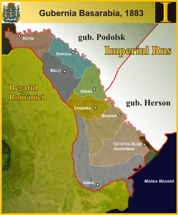 Basarabia Mare Basarabia ţaristă Bessarabia